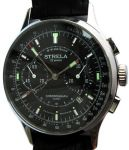 Chronograph Poljot Strela Black Dial 42mm